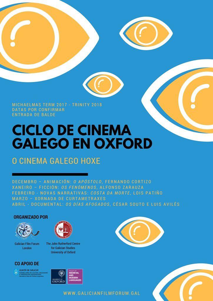 Cartel ciclo cine galego Oxford