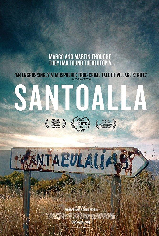 cartel Santoalla